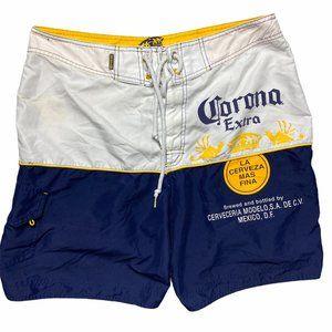Corona Extra Men's Casual Cargo Board Shorts Swim